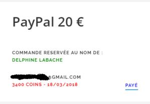 gain paypal