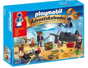 calendrier PLAYMOBIL ile des pirates