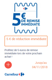 réduction carrefour