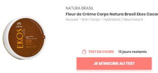 test beauté natura brasil